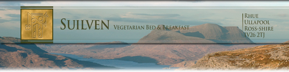 Suilven, vegetarian Bed & Breakfast